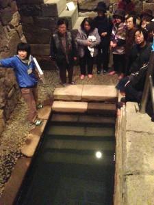 H25 11 19 万年青 史跡探訪 (加工地下室)