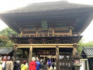 H25 11 19 万年青 史跡探訪 (加工青井阿蘇神社)