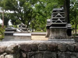 県庁 熊本城模型 加工